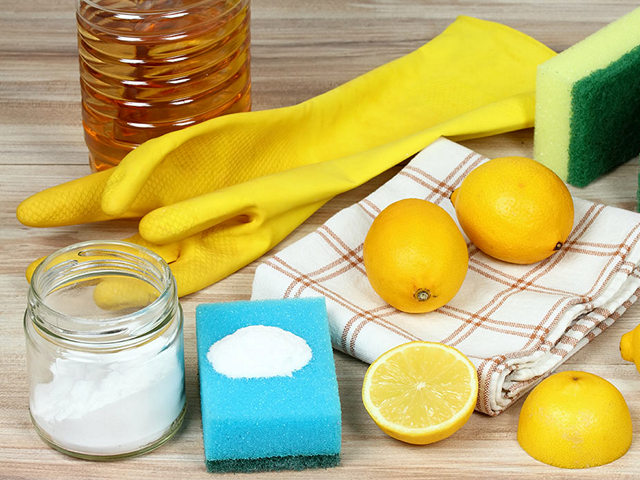 Как навести чистоту на кухне без химии