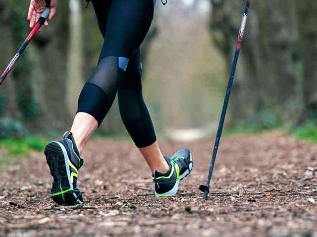 Скандинавская ходьба – учимся ходить